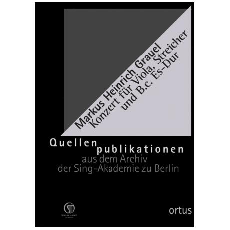 Grauel, M. H.: Violakonzert Es-Dur