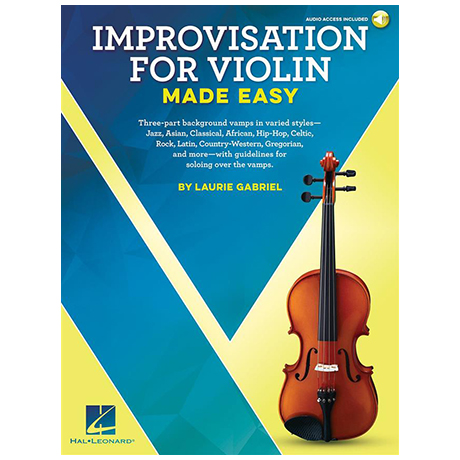 Gabriel, L.: Improvisation for Violin Made Easy (+ Online Audio)