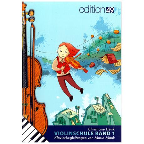 Denk, Chr.: Violinschule Band 1 – Klavierbegleitung