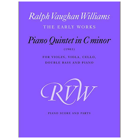 Vaughan Williams, R.: Piano Quintett in c-Moll