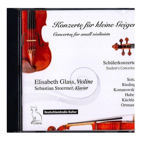 Violinkonzerte für kleine Geiger – CD