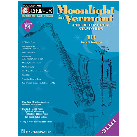 Moonlight in Vermont & Other Great Standards (+CD)