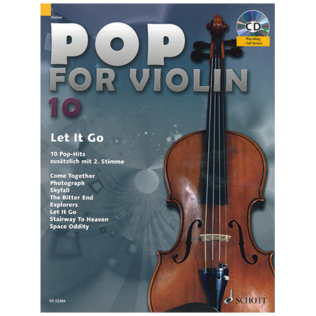 Pop for Violin Vol. 10 »Let It Go« (+CD)