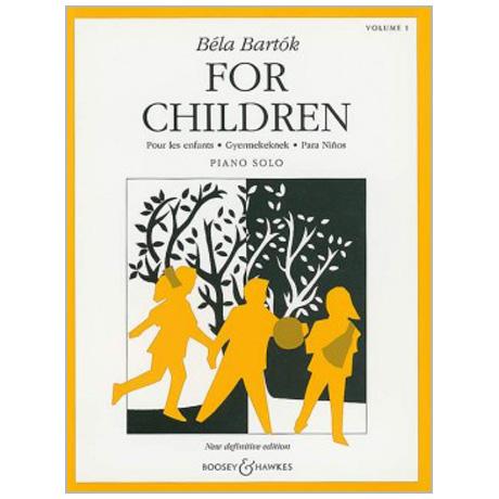 Bartók, B.: Für Kinder Band 1