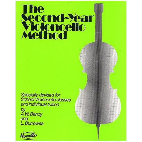 Benoy, A. W./Burrowes, L.: The Second-Year Violoncello Method