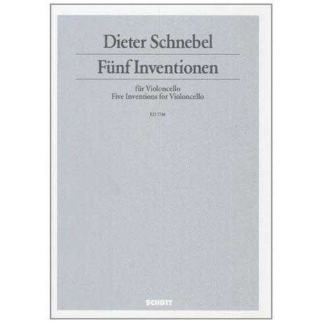 Schnebel, D.: 5 Inventionen