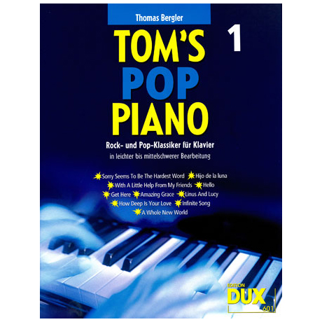 Bergler, T.: Tom's Pop Piano 1