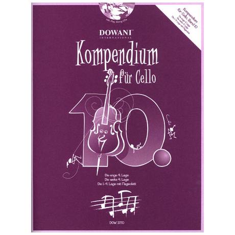 Kompendium für Cello - Band 10 (+CD)