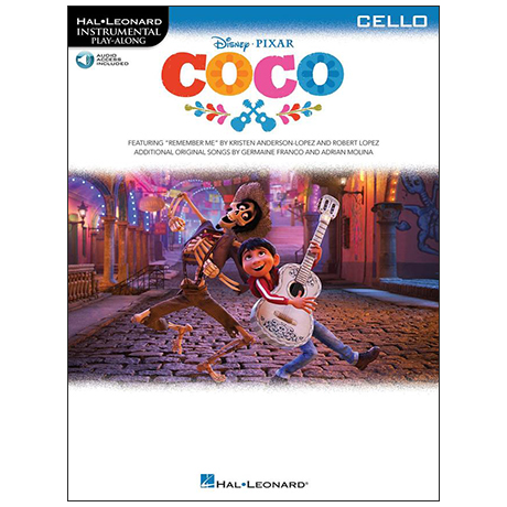 Coco for Cello (+Online Audio)