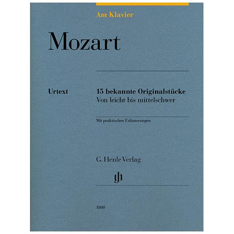 Mozart, W. A.: 15 bekannte Originalstücke – von leicht bis mittelschwer