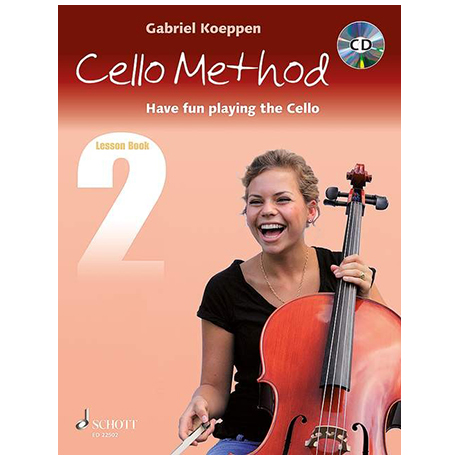Koeppen, G.: Cello Method Lesson Book 2 (+CD)