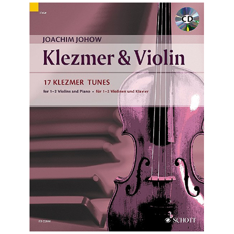 Johow, J.: Klezmer & Violin (+CD)