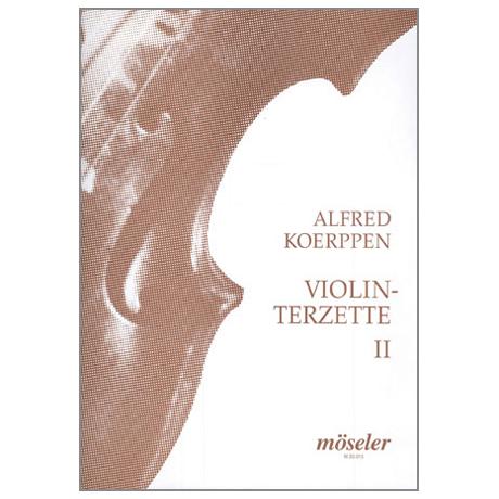 Koerppen, A.: Violinterzette Nr. 2