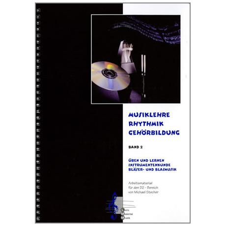 Musiklehre, Rhythmik, Gehörbildung Band 2 (+CD)