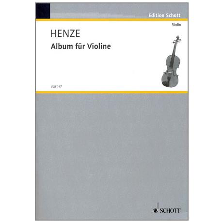 Henze, H. W.: Album für Violine