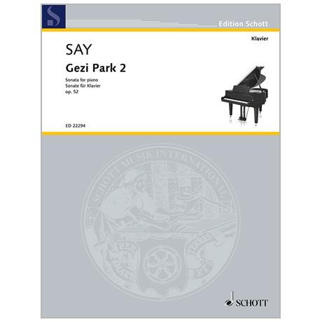 Say, F.: Klaviersonate »Gezi Park 2« Op. 52 (2014)