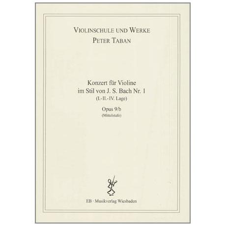 Taban, P.: Violinkonzert im Stil von J. S. Bach Nr. 1 Op. 9/b