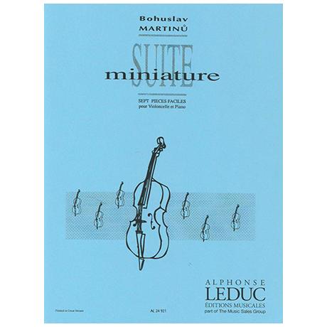 Martinů, B.: Suite miniature – 7 pièces faciles