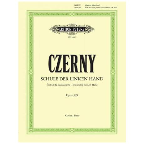 Czerny, C.: Schule der linken Hand op. 399