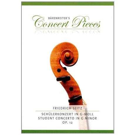 Seitz, F.: Schülerkonzert Op. 12 g-Moll