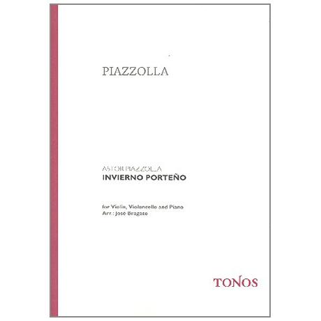 Piazzolla, A.: Invierno Porteño – Las Cuatro Estaciones Porteñas