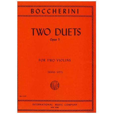 Boccherini, L.: 2 Duette Op. 5