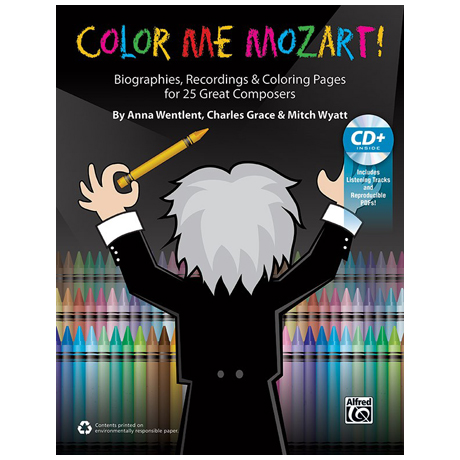 Color Me Mozart! – Malbuch (+CD)