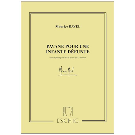Ravel, M.: Pavane pour une infante defunte
