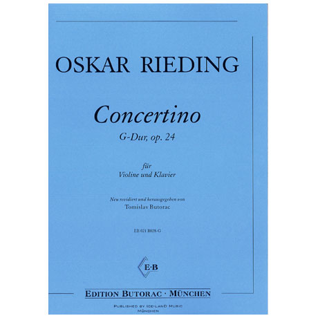 Rieding, O.: Concertino Op. 24 G-Dur