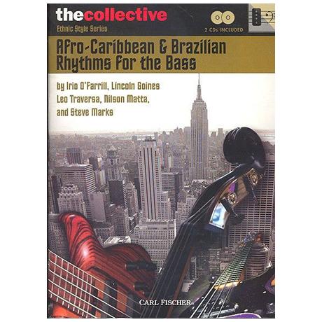 Afro-Caribbean & Brazilian Rhythms: for bass (+2CDs)