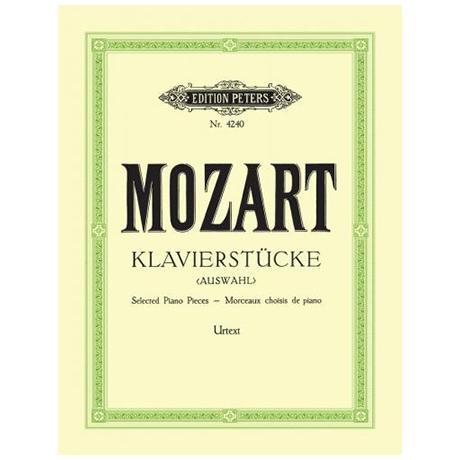 Mozart, W. A.: Klavierstücke