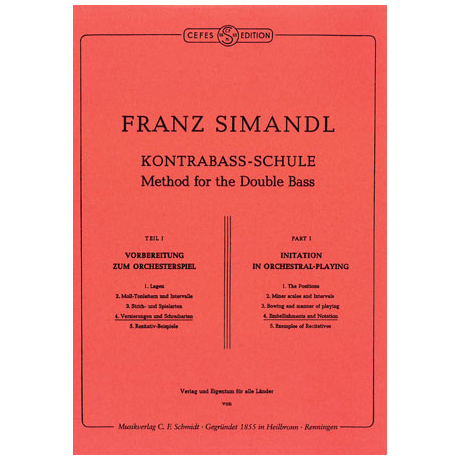 Simandl, F.: Kontrabass-Schule Band 4