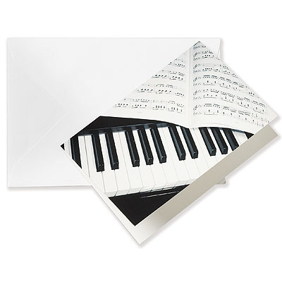 Greeting Card PIANO