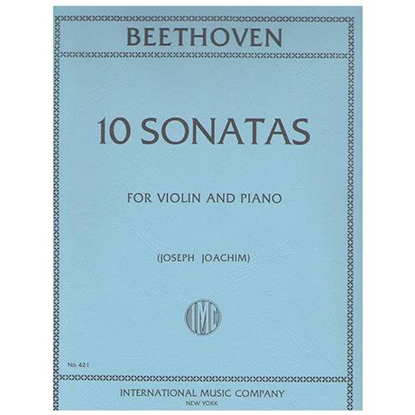 Beethoven, L. v.: 10 Violinsonatas (Joachim)