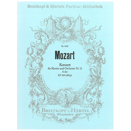 Mozart, W. A.: Klavierkonzert Nr. 12 A-Dur KV 414 (385p)