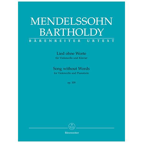 Mendelssohn Bartholdy, F.: Lied ohne Worte Op. 109
