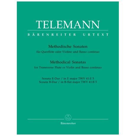 Telemann, G. Ph.: Methodische Sonaten – Band 5