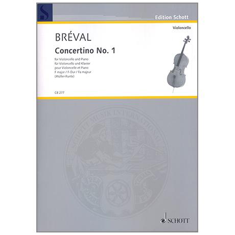 Bréval, J.B.: Concertino No. 1 F-Dur