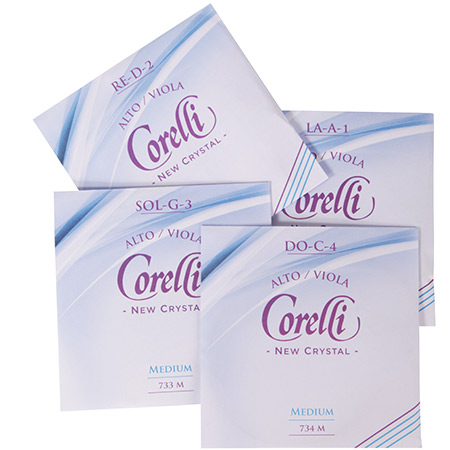 CORELLI Crystal viola strings SET