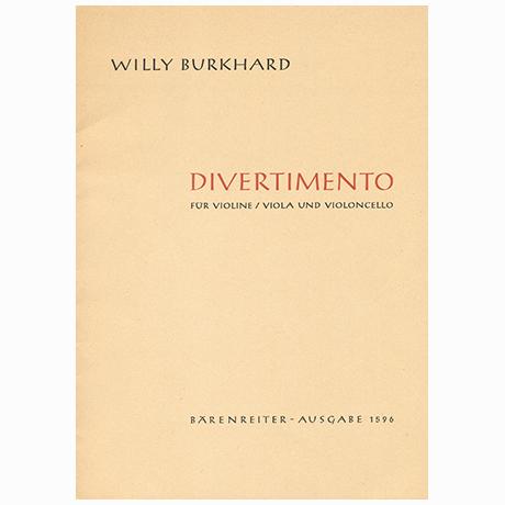 Burkhard, W.: Divertimento Op. 95 (1954)
