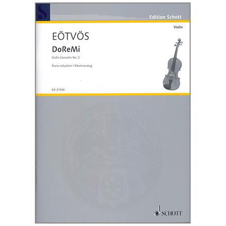 Eötvös, P.: DoReMi Violinkonzert Nr. 2