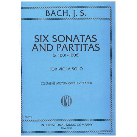 Bach, J. S.: 6 Sonaten und Partiten BWV 1001 - 1006 – Viola