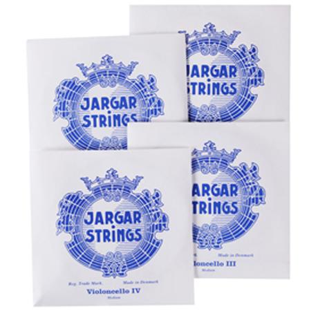 JARGAR Silver cello strings SET