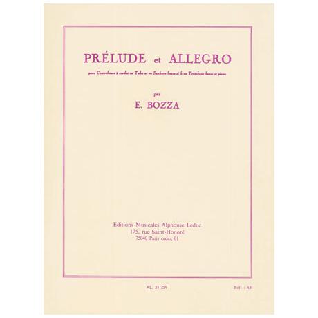 Bozza, E.: Prélude et Allegro
