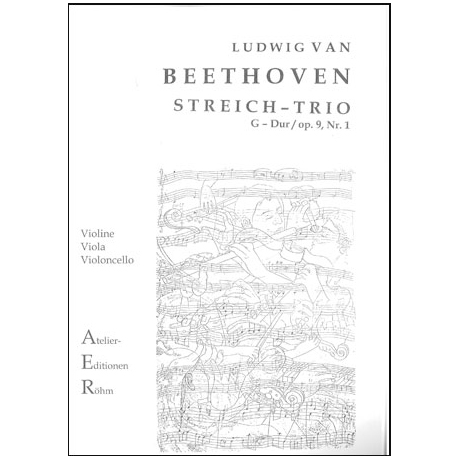 Beethoven, L.v.: Streichtrio in G - Dur op.9, Nr. 1