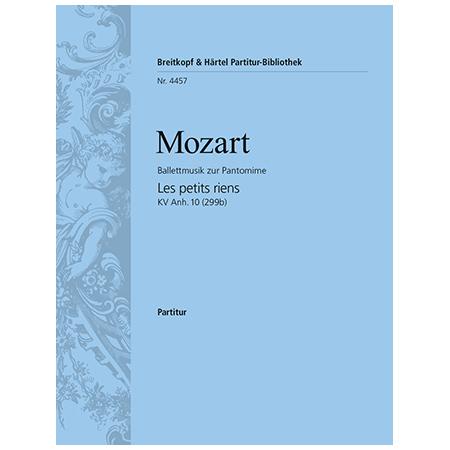 Mozart, W. A.: Les petits riens KV Anh. 10 (299b)