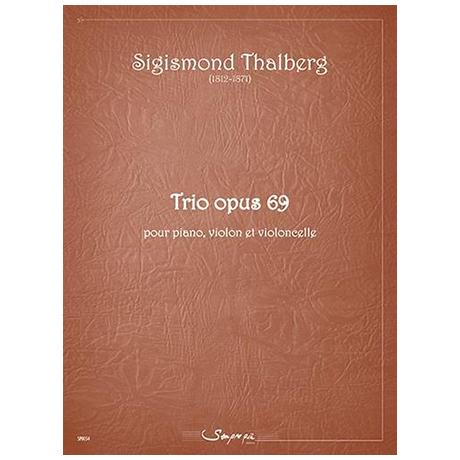 Thalberg, S.: Klaviertrio Op. 69