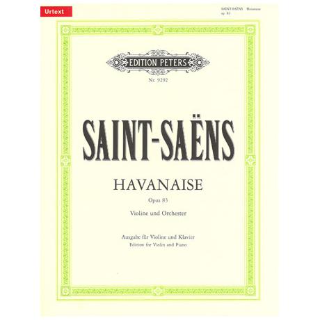 Saint-Saens, C.: Havanaise Op. 83