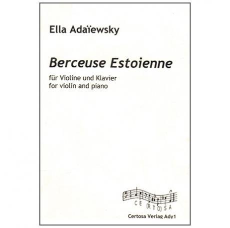Adaïewsky, E.: Berceuse Estonienne