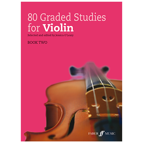 O'Leary, J.: 80 Graded Studies for Violin Book 2